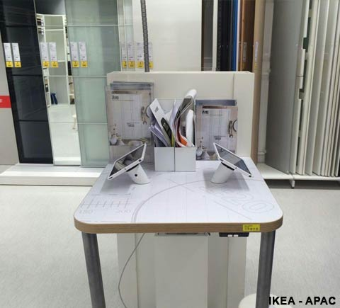 CT100 Tablet Stands Ikea - APAC