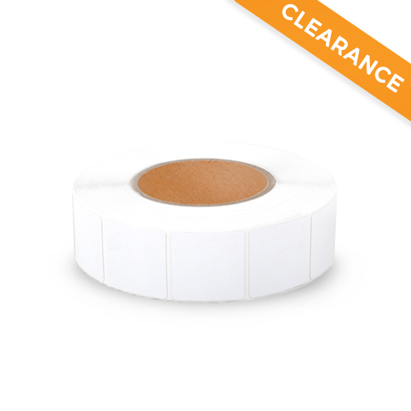 Labels RF 8.2 MHZ 40x40mm - Plain - Roll of 1000 image 1